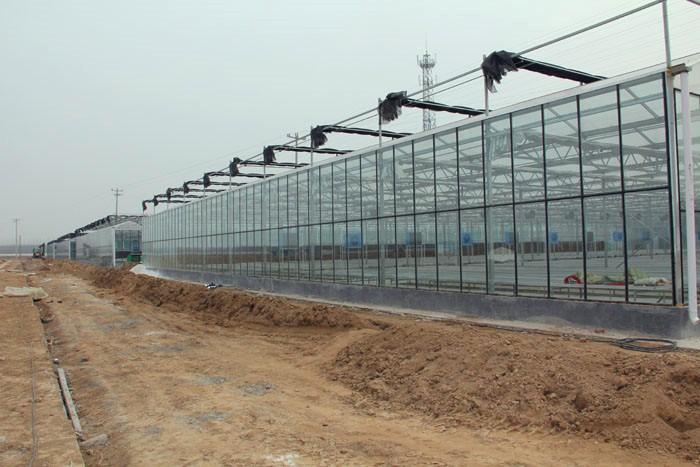 玻璃温室建设