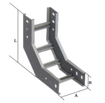 Vertical curved stepped Bridge