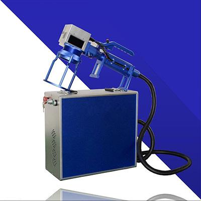 光纤线激光打标机怎样在按键的斜面上激光打标应用的