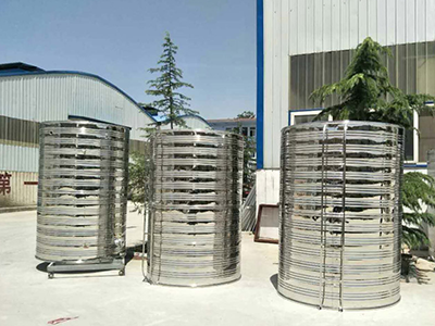 圆柱形保温水箱