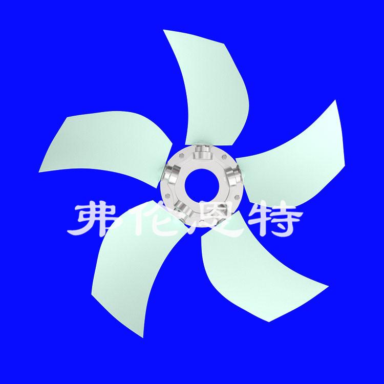 挖掘机散热器叶轮不同的结构造型有什么区别