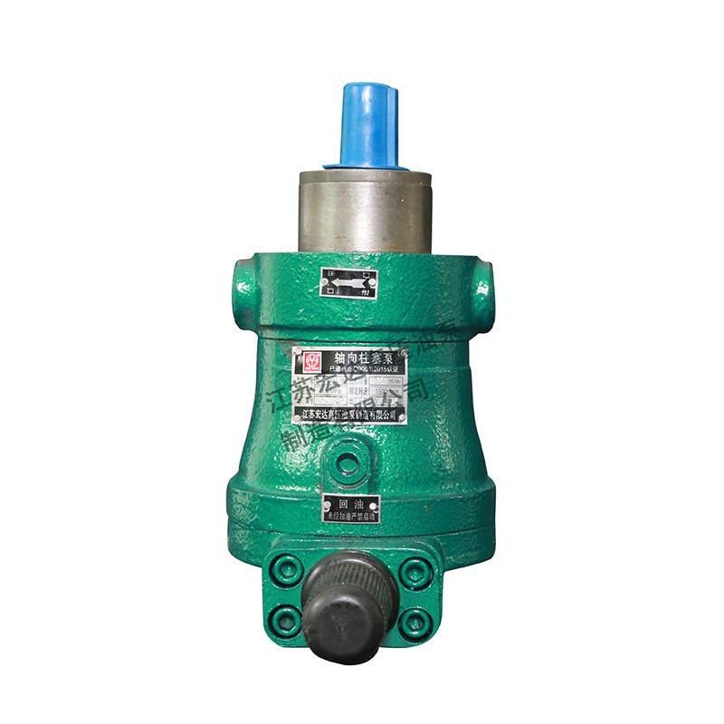 轴向栓塞泵厂家比较其与径向柱塞泵大不同