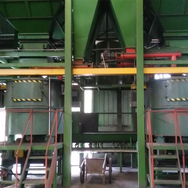 铸造设备的使用要保证安全