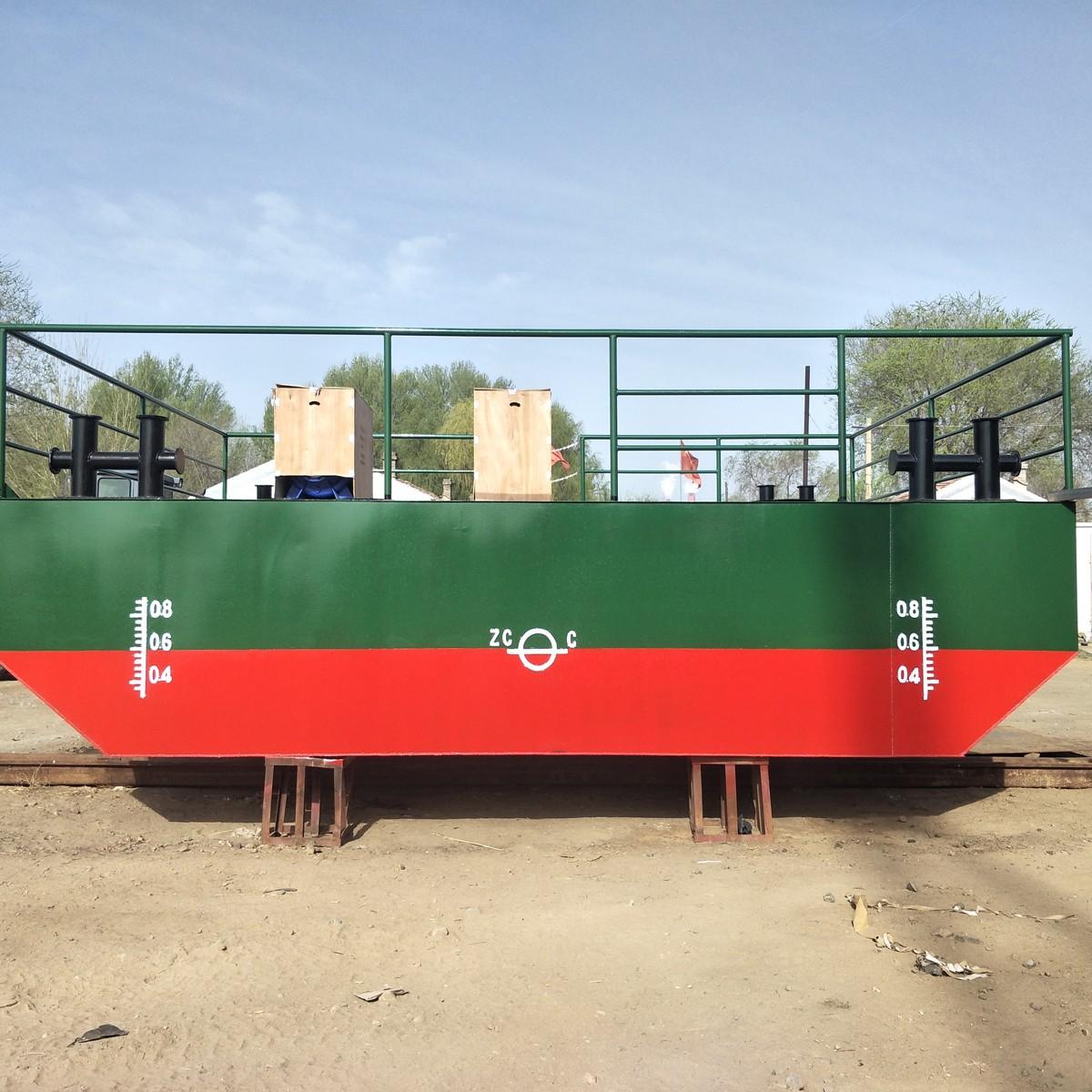 金茂水利7米水泵船黄河浮桥航运