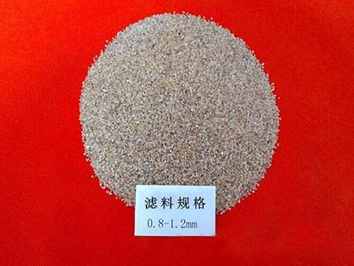 滤料0.8-1.2mm