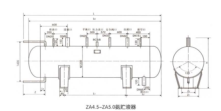 氨贮液器2