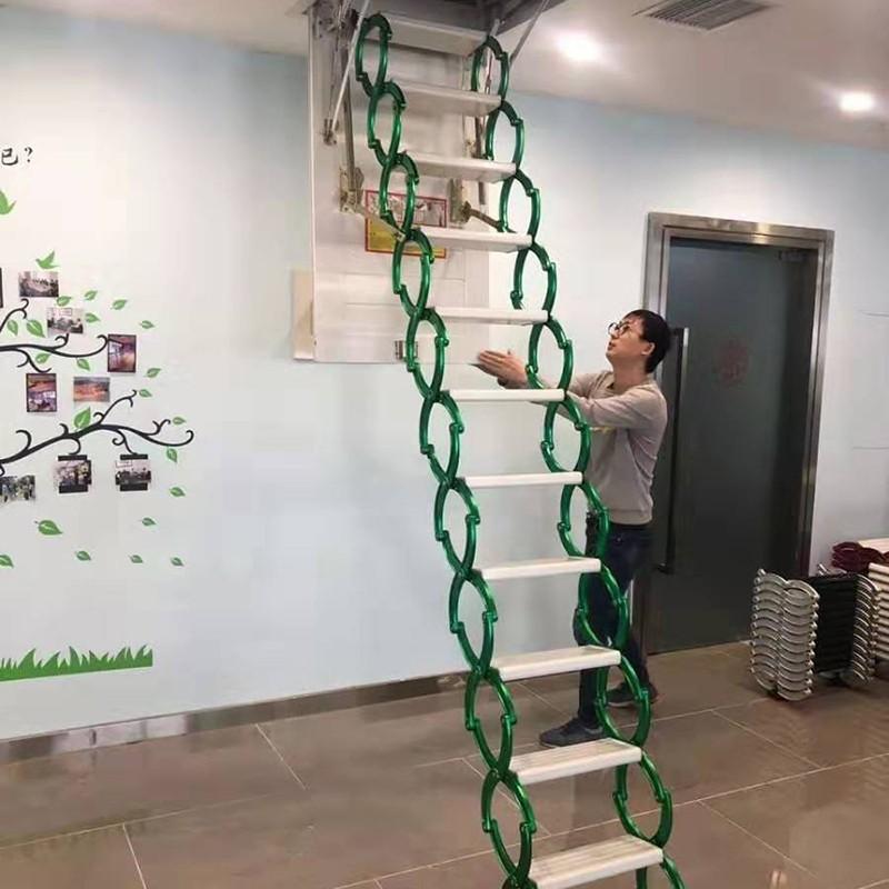 甄合金阁楼折叠楼梯