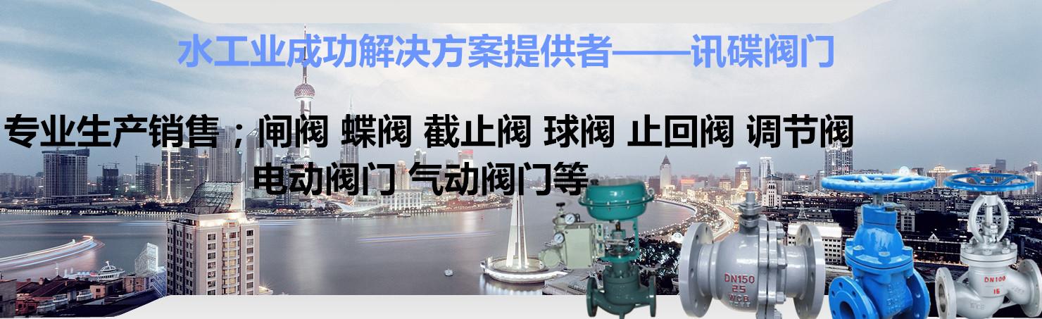 上海品牌閥門生產廠家上海訊碟閥門制造有限公司