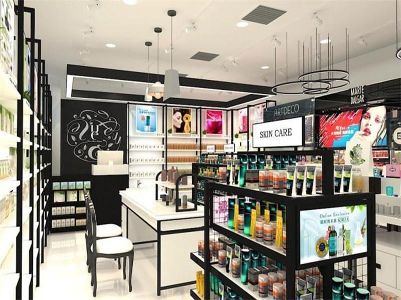 化妆品展柜厂家告诉您化妆品店如何布局