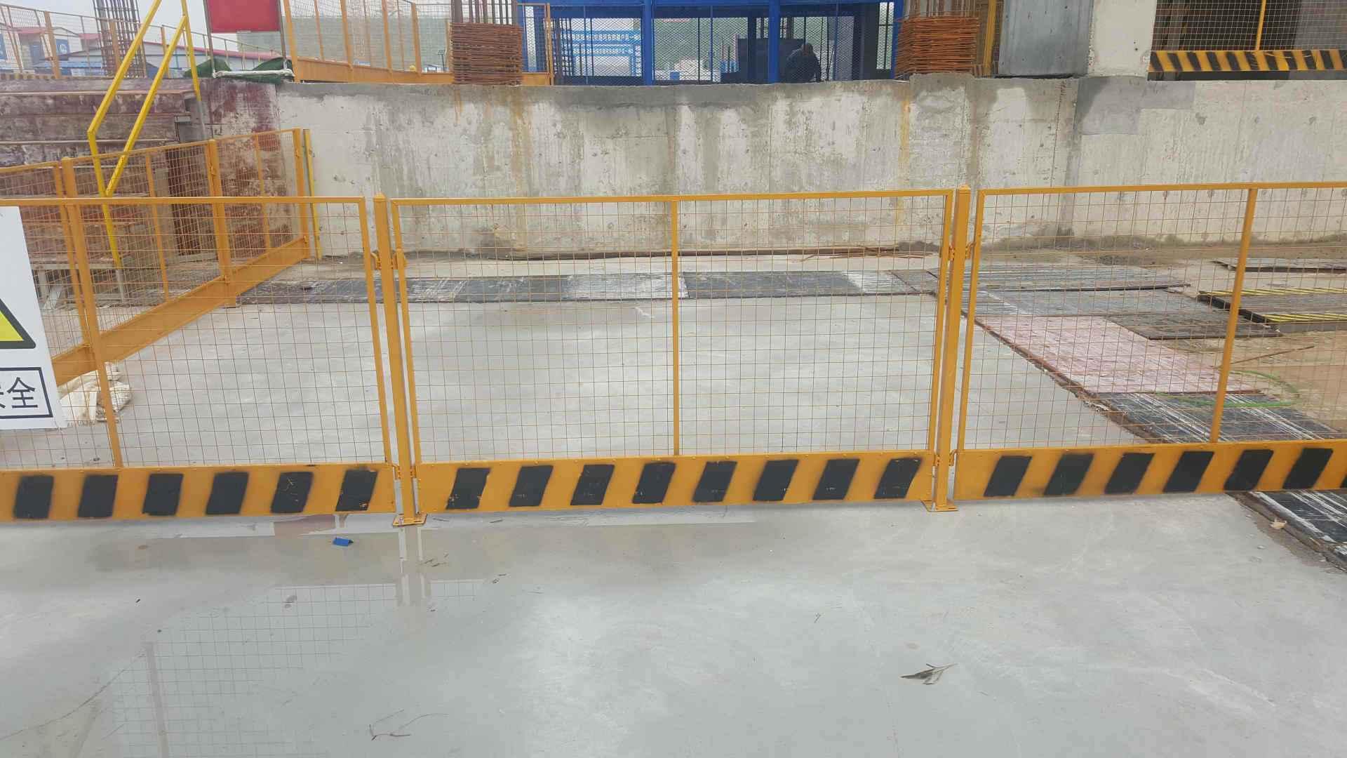 工地施工护栏颜色为什么是黄黑色?