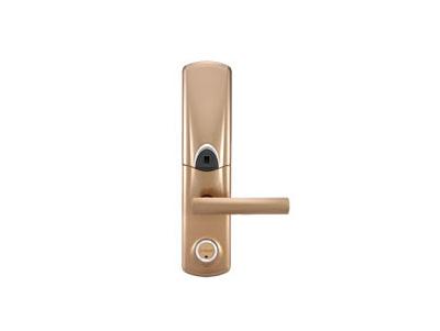 铜门锁安装