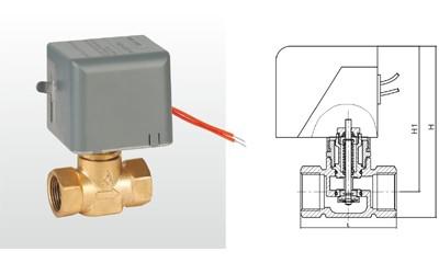 埃美柯电动阀-AQDF15L2/AQDF25L2电动二通阀