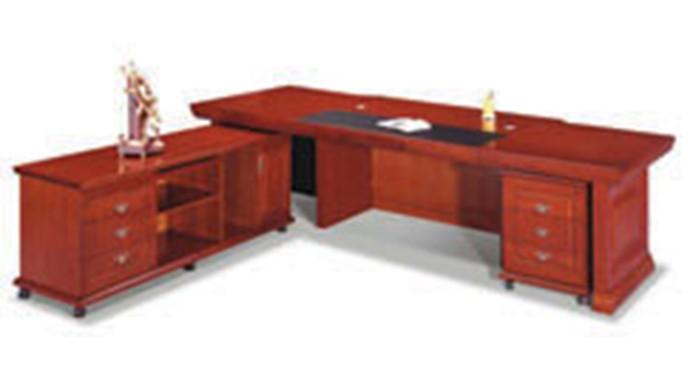 油漆班台总裁桌