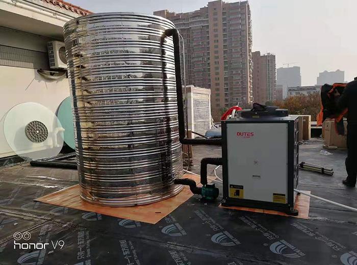 姜堰巴宝莉美容空气能热泵工程案例