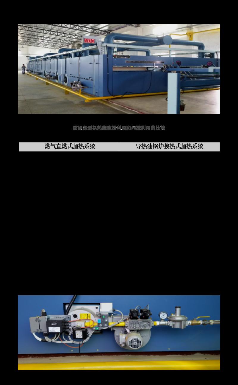 纺织定型机直燃式