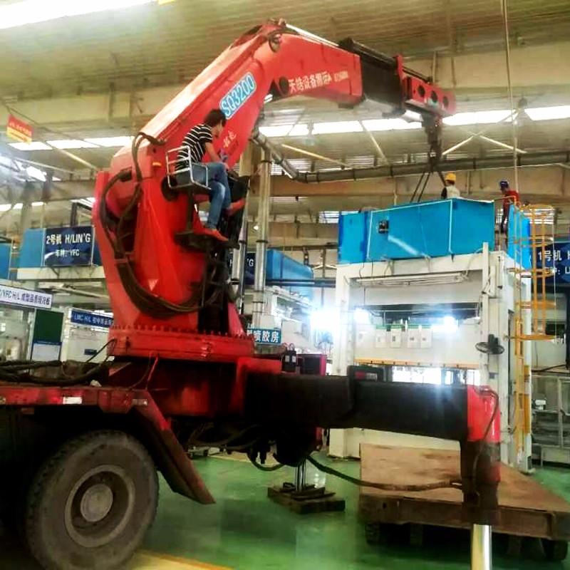 大型设备搬运公司在装卸货物时禁忌操的事项