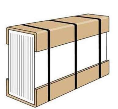 纸护角的利用背景技术