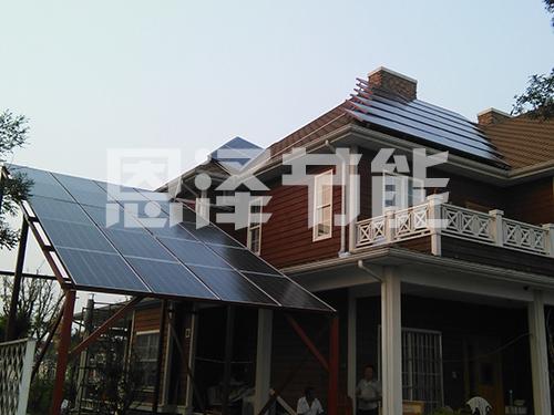 别墅太阳能发电系统
