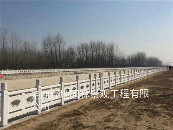 江苏景观仿石护栏