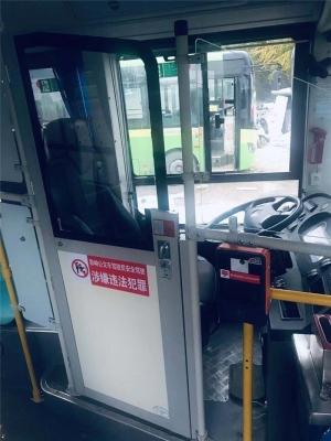 灵武公交车加装司机防护