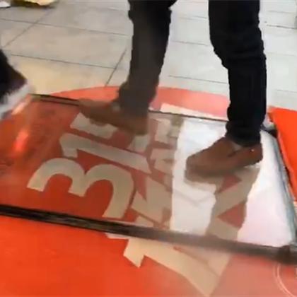 玻璃窗测试视频