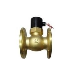 法兰铜活塞式电磁阀