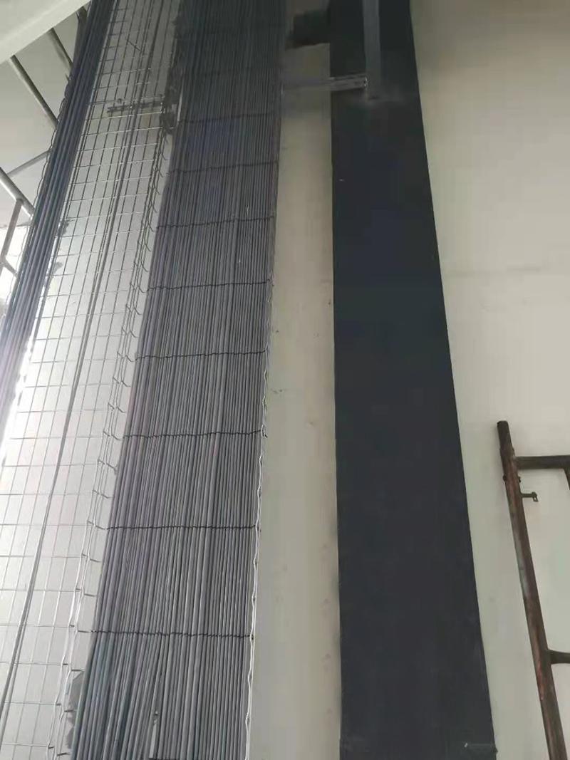 网格桥架施工现场实拍