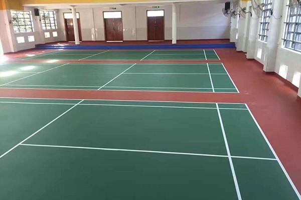 体育运动地坪漆工程