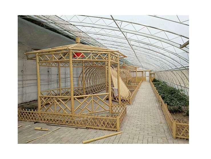 竹房子结构坚固抗震性好