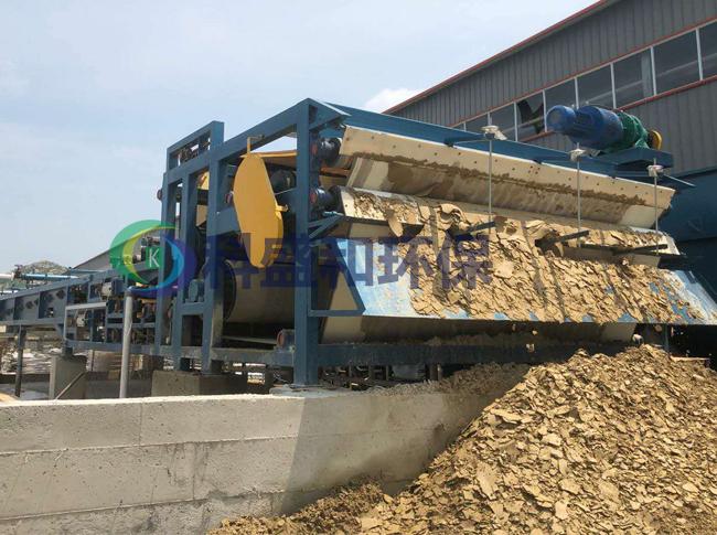 云南高效的石料厂污泥泥浆脱水处理