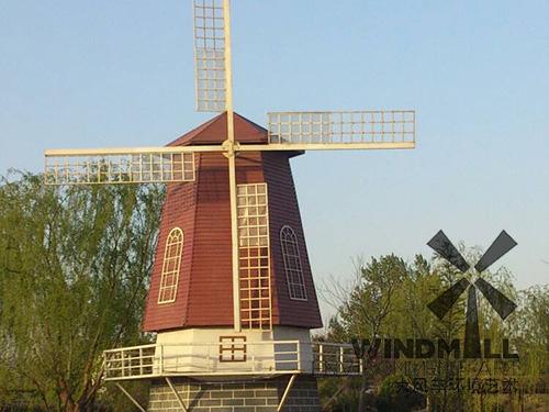 制作荷兰景观风车时应考虑哪些因素?