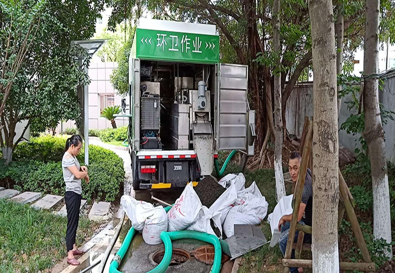 粪污处理车