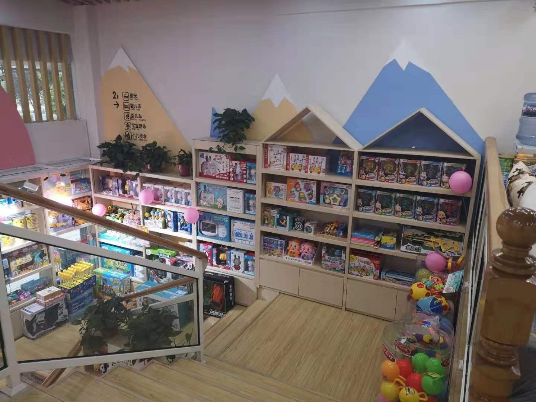 玩具展柜案例