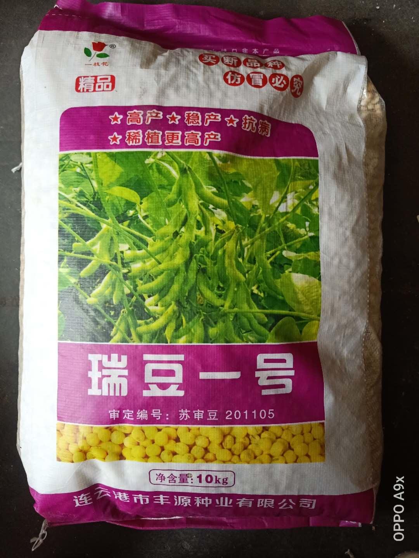 瑞豆一号黄豆种子