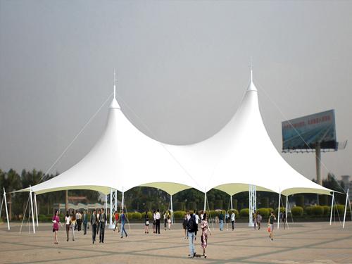西宁景观膜结构工程案例