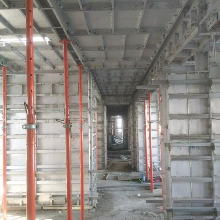 铝合金模板在超高层建筑施工中的应用