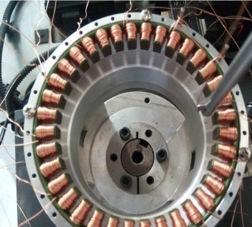 外转子自动绕线机一般用于加工扁平线