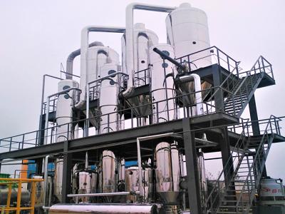 把握三效蒸发器的连接起来方法及超滤装置
