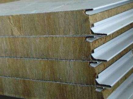保温岩棉夹芯板的施工保养注意点