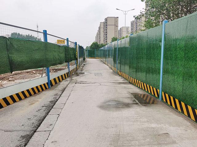 芜湖轻轨2号线施工现场