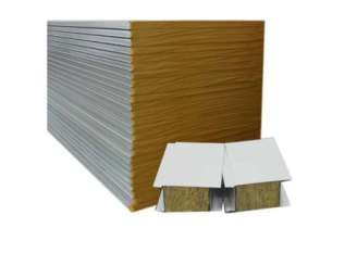 The role of rock wool sandwich board in external wall insulation