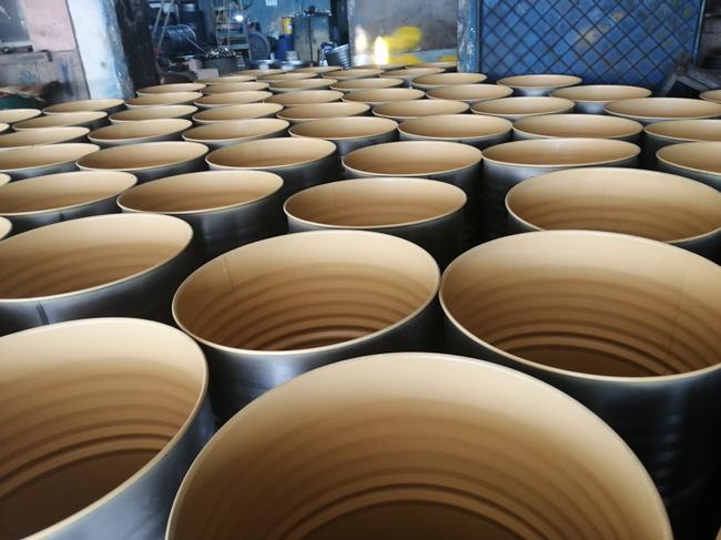 敦普水性钢桶内涂料的应用