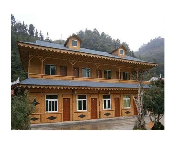 竹房子安全可靠又实用