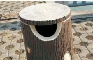 仿木垃圾桶fz01