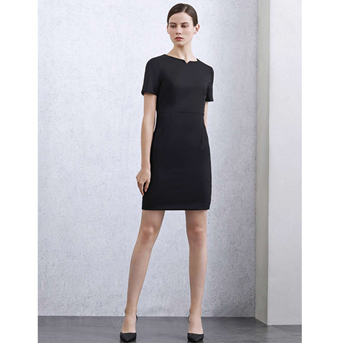 西服裙、西服式長袖連衣裙是什么樣子