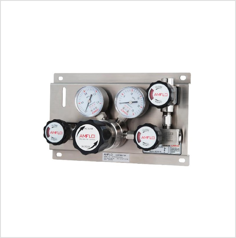 PS110系列单侧特气控制面板的应用