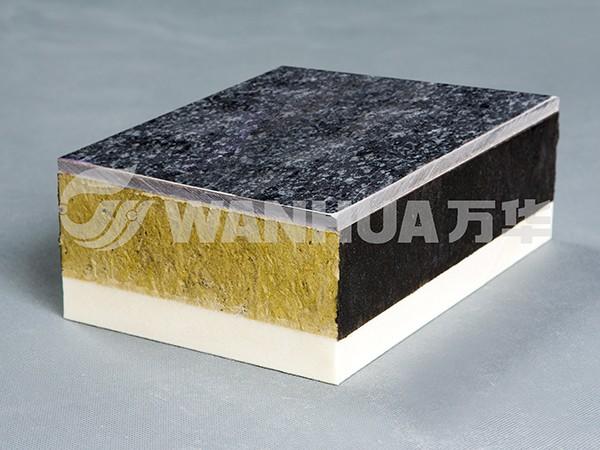 岩棉复合板与墙体保温