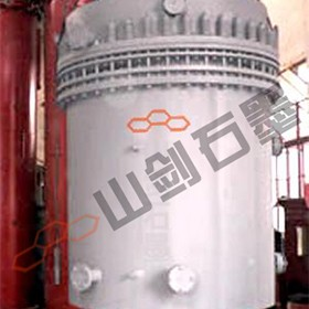 STJ type graphite quench tower and quench tank