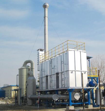 【催化燃燒設備】蓄熱式熱力焚化爐-RTO