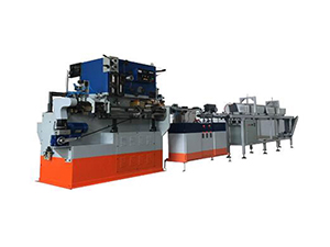 Round food can automatic production line